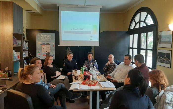 Partnerski sastanak - Prevenko